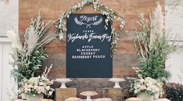 Food Glorious Food! 13 Ideas for Wedding Food Stations