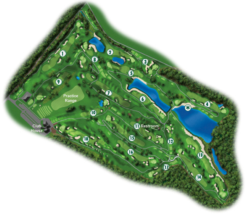 Course Layout New York Country Club