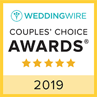 WeddingWire Couples' Choice Award Winner 2019